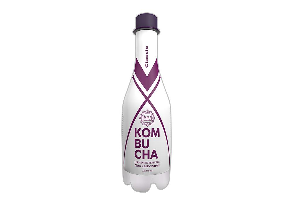 نوشیدنی کامبوچا با استارتر کلاسیک 325ML بسته 12 عددی