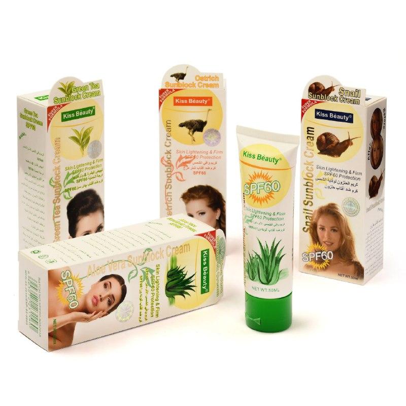 پک ۴ عددی ضد آفتاب کیس بیوتی (روغن شترمرغ -چای سبز-روغن حلزون و آلوئه ورا)