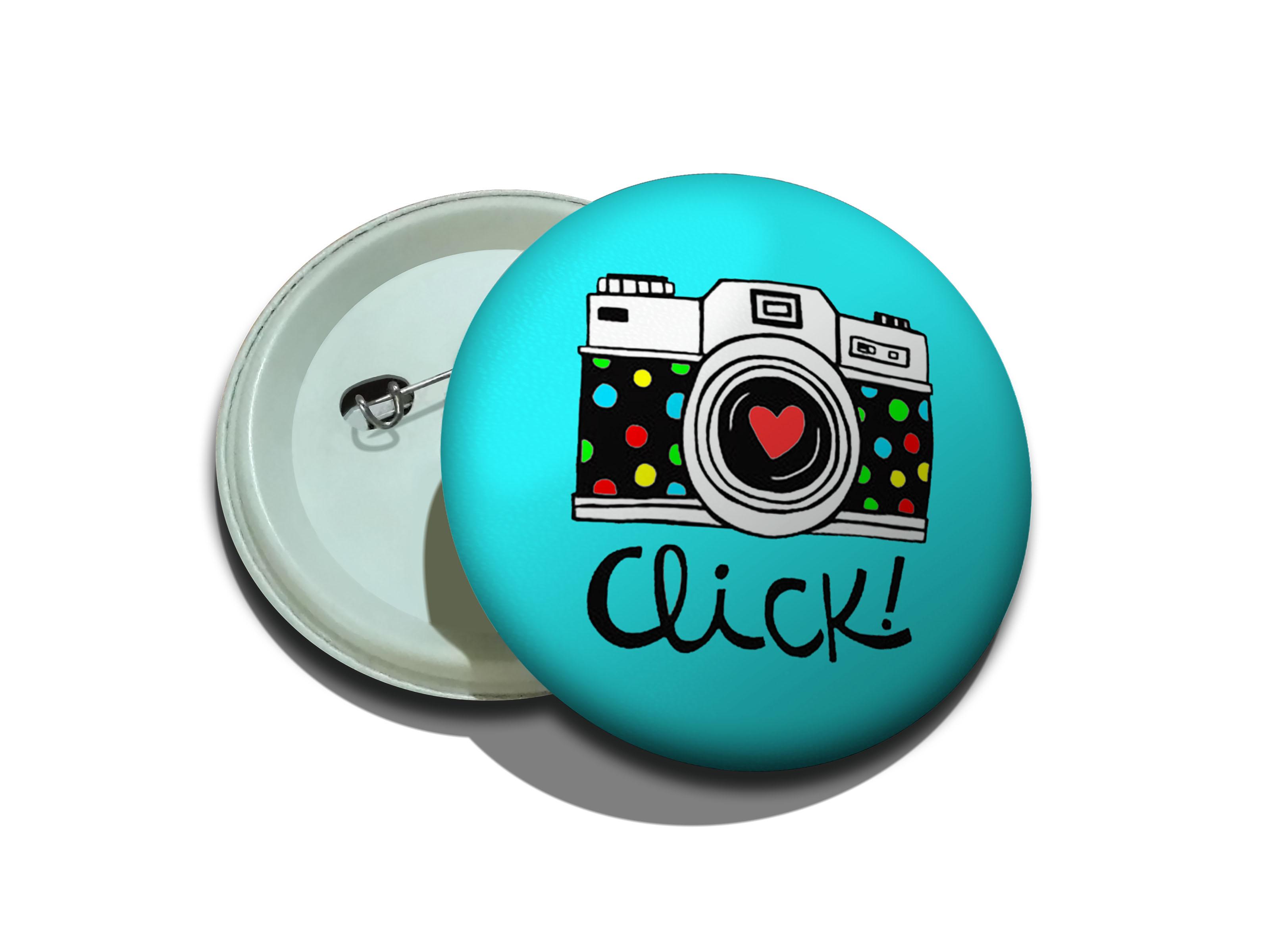 پیکسل سوزنی طرح دوربین رنگی رنگی آبی