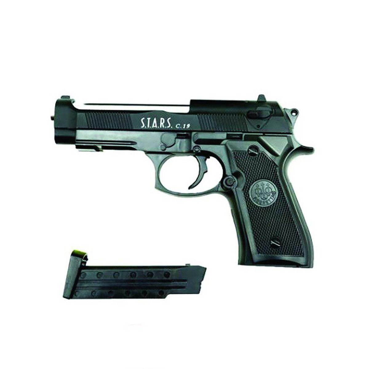 تفنگ کلت فلزی ساچمه ای ایرسافت گان مدل C.19 اورجینال