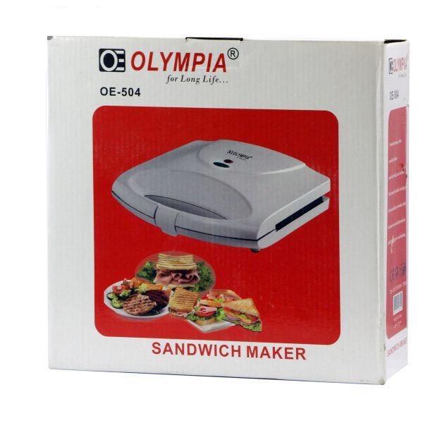 ساندویچ ساز المپیا مدل OE-504