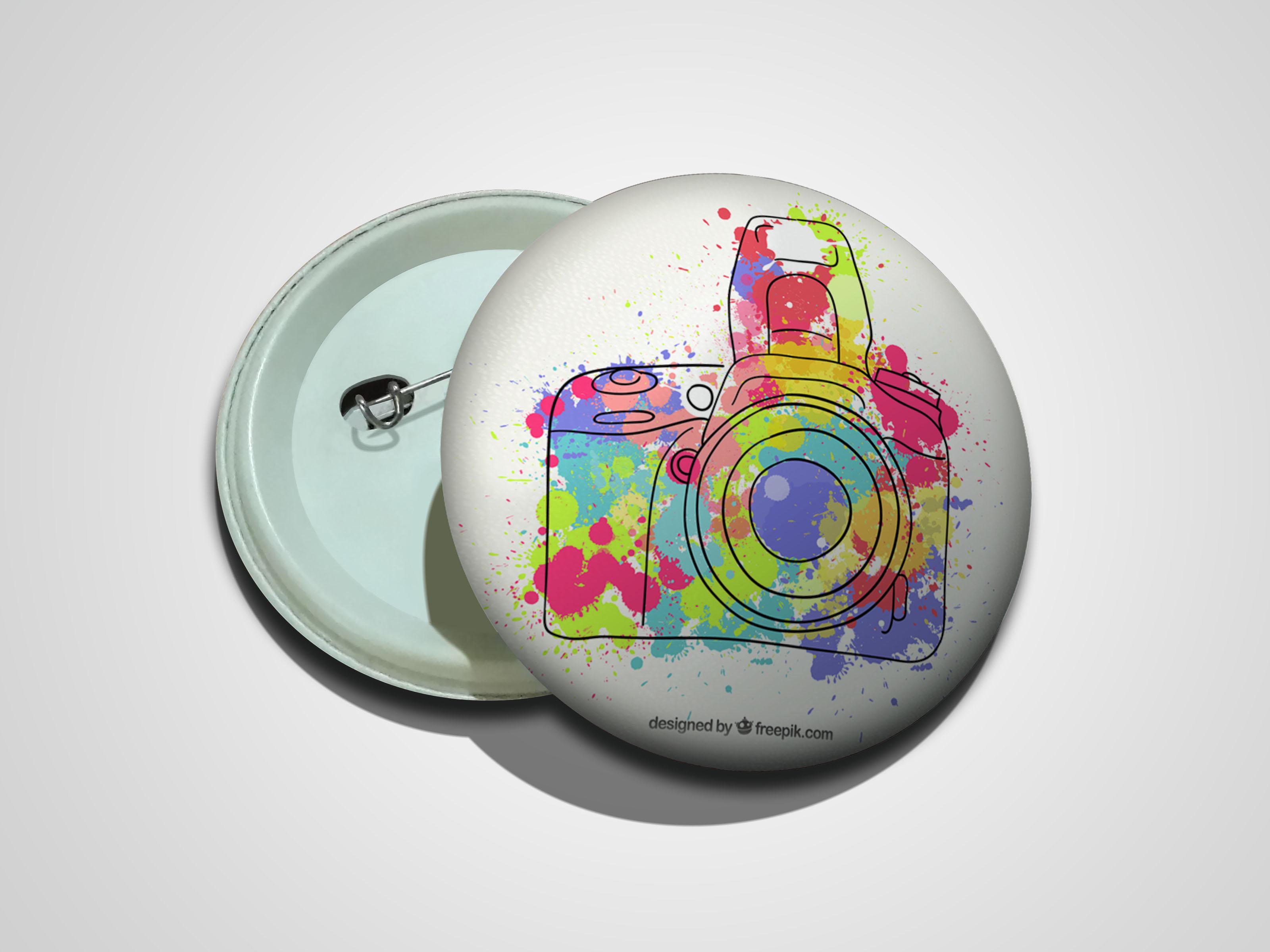 پیکسل سوزنی طرح دوربین رنگی کد 01