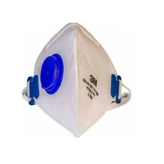 ماسک تنفسی سوپاپ دار 3M کد 0086