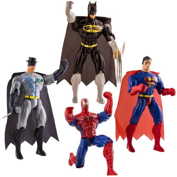 فیگور 4 شخصیت Super Heroes
