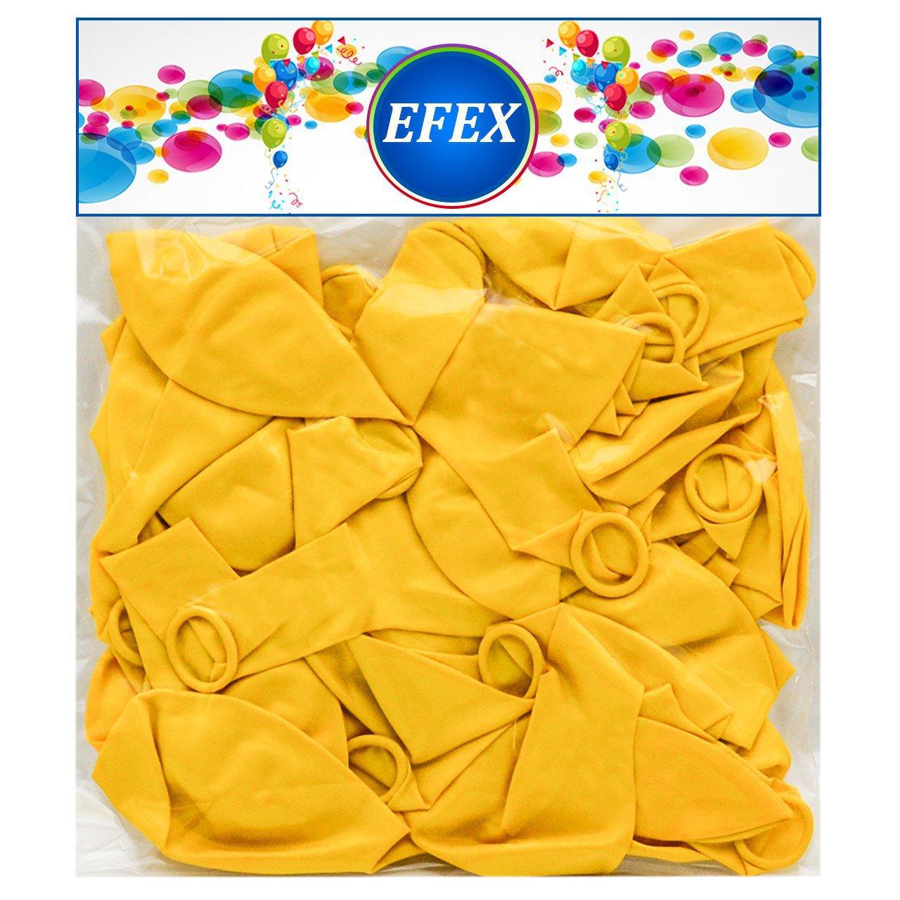 بادکنک متالایز طرح EFEX 2 بسته 40 عددی