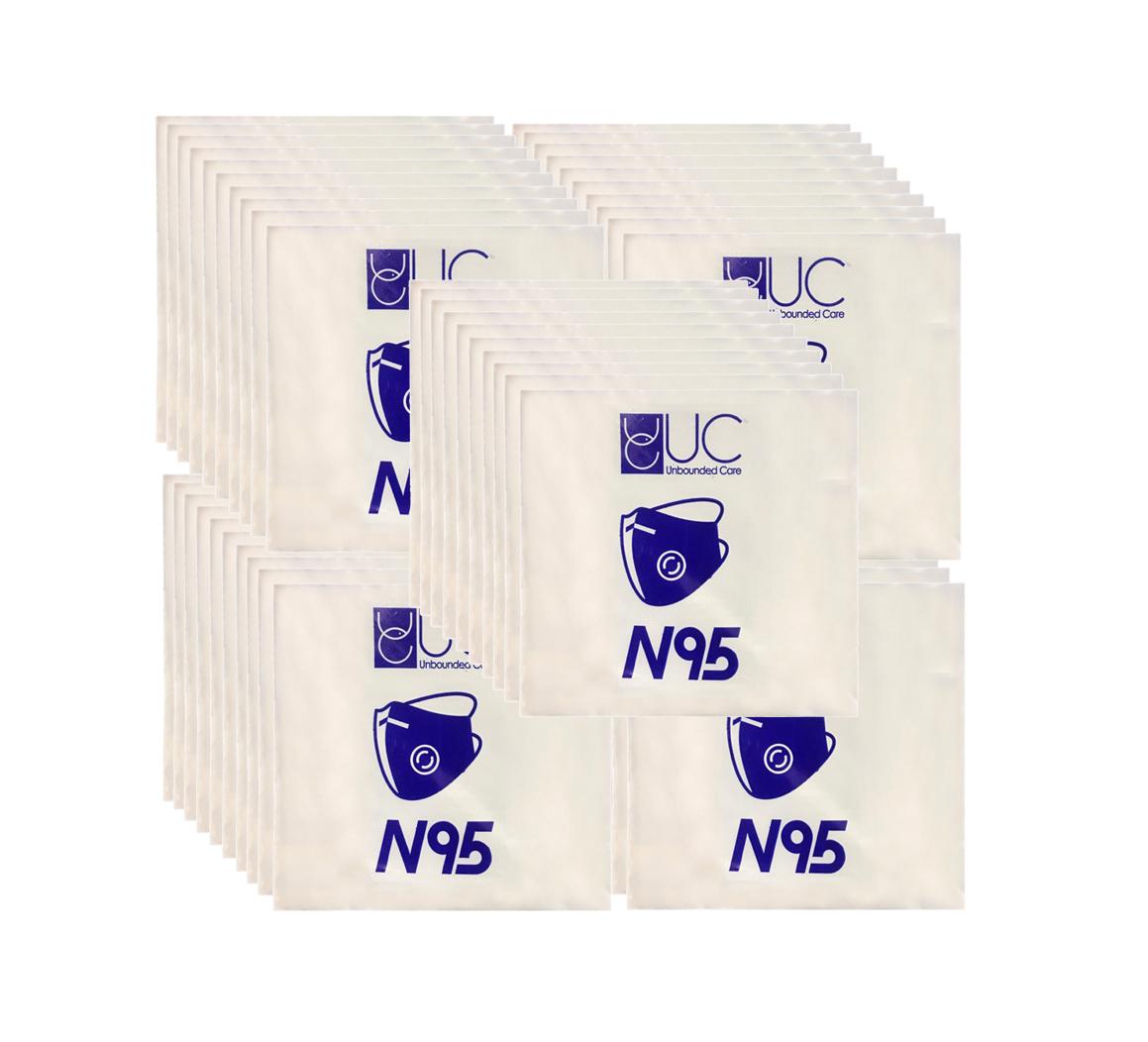 ماسک N95 فیلتر دار 50 عددی نرخ دولتی ( تحویل فوری -ارسال رایگان )