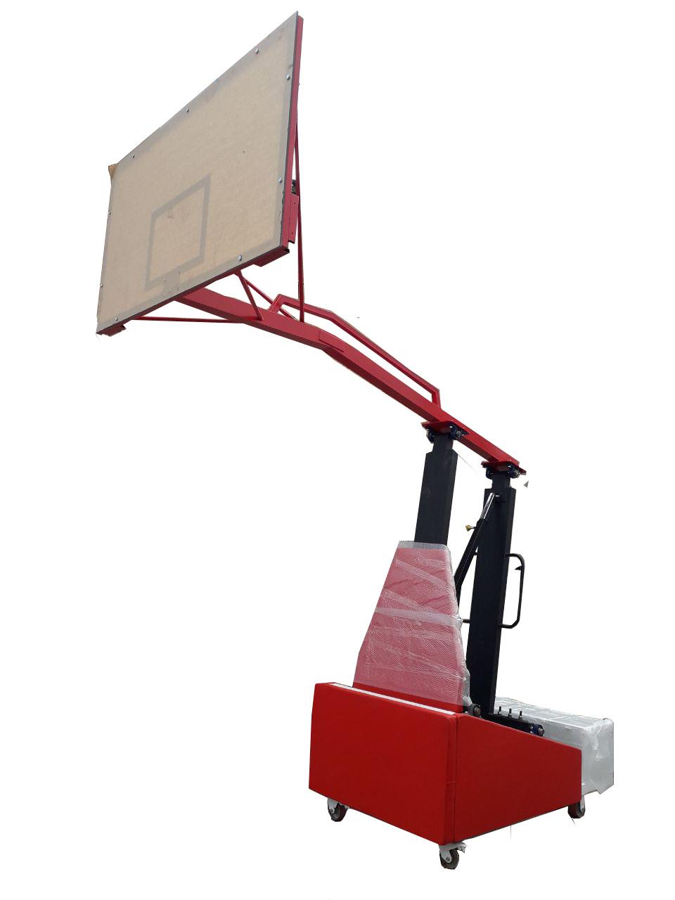 پایه بسکتبال متحرک هیدرولیک طرح شیلد مدرن اسپرت