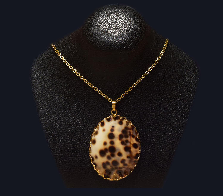 گردنبند صدفی روکش طلا ماسیا کد 2011