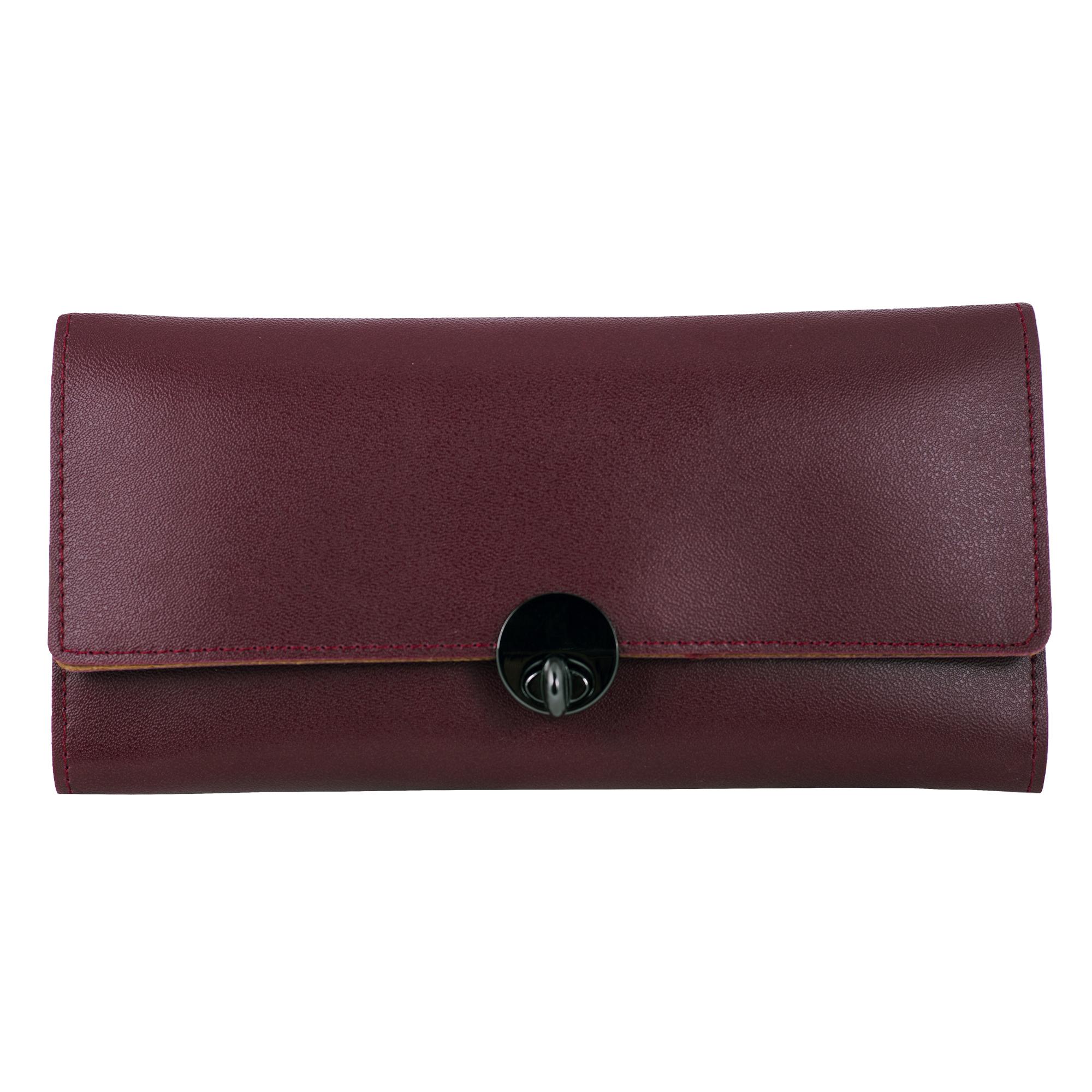 کیف پول چرم زنانه مدل Roseta