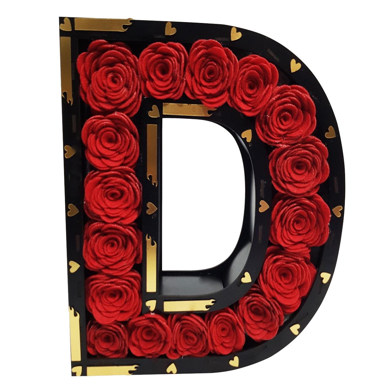 جعبه گل مصنوعی طرح D کد ND10118