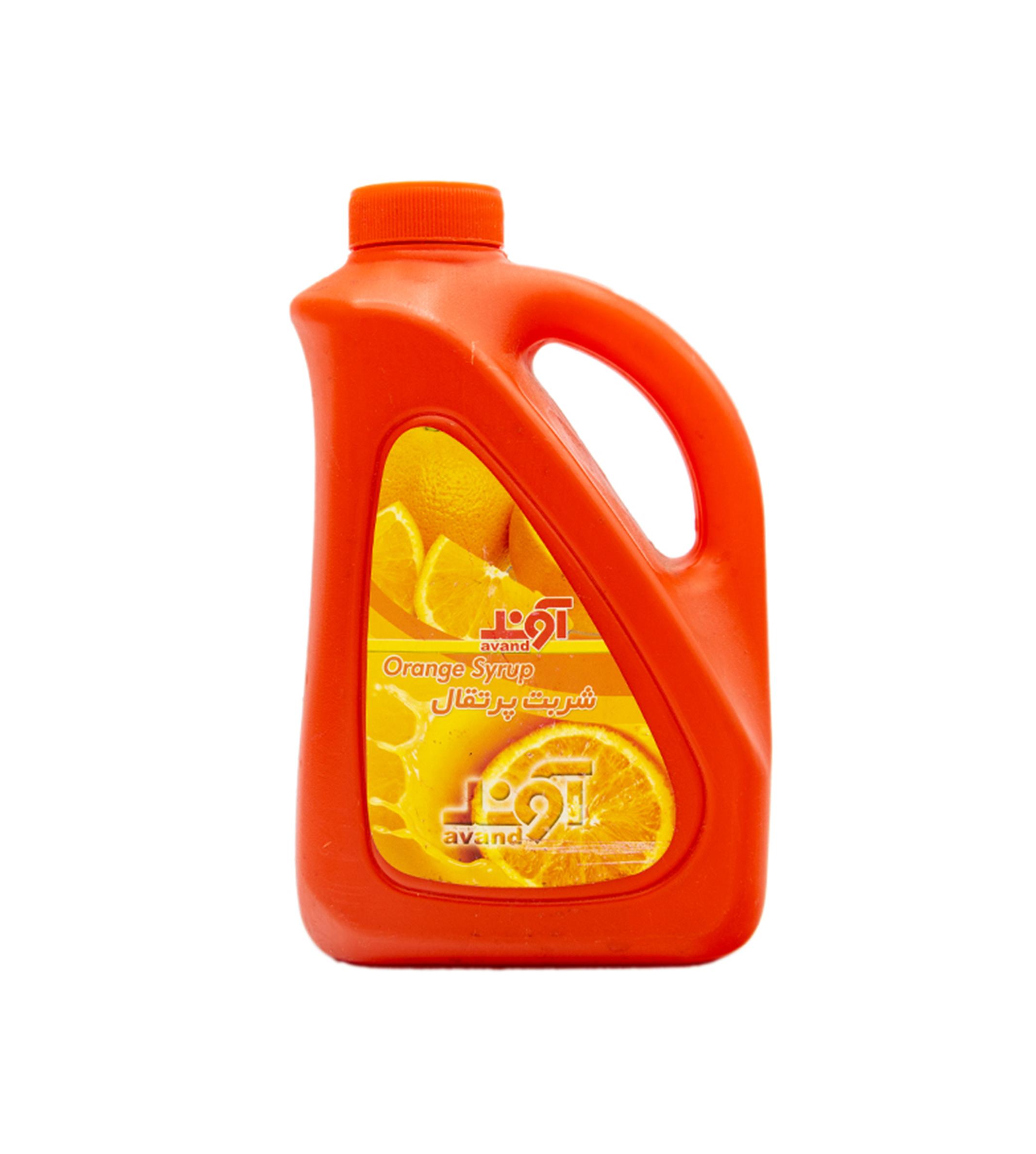 شربت پرتقال 1700 گرم پارس گلاب آوند
