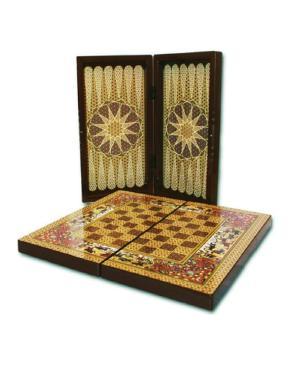 صفحه شطرنج طرح خاتم کاری
