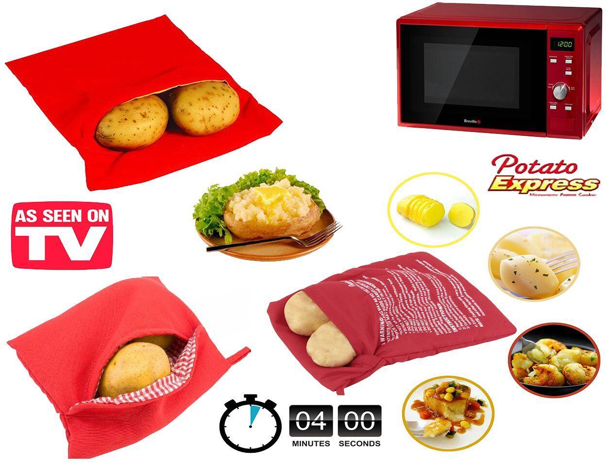 کیسه پخت سیب زمینی بسته دو عددی کد 01649
