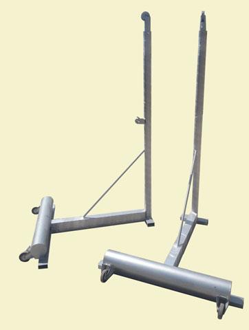 پایه والیبال تلسکوپی متحرک چرخدار مدرن اسپرت