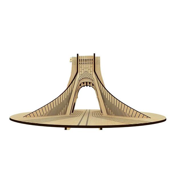 پازل سه بعدی چوبی برج بزرگ آزادی