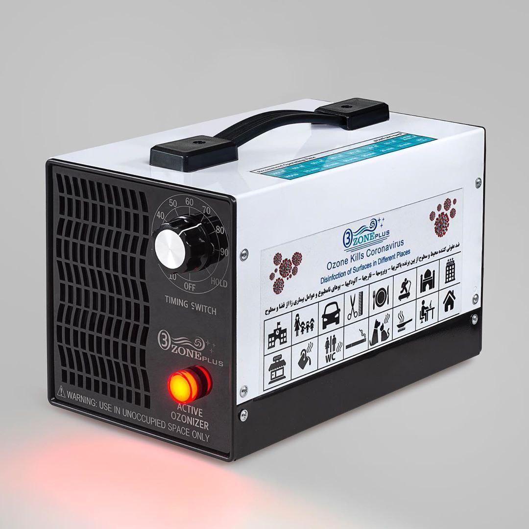 دستگاه تصفیه هوا مدل ازن پلاس