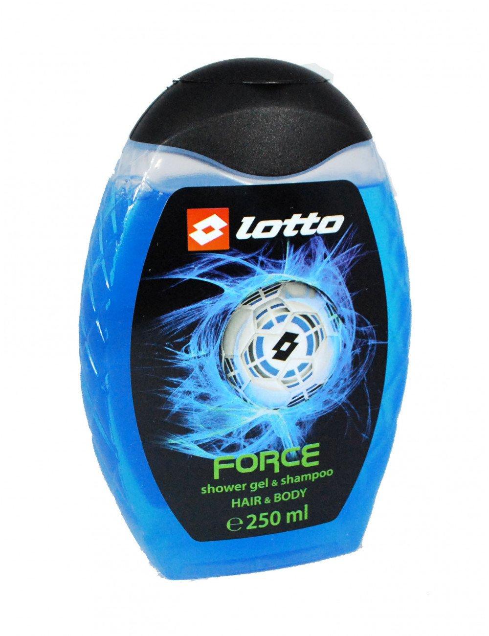 شامپو مو و بدن لوتو مدل force حجم 250 میلی لیتر