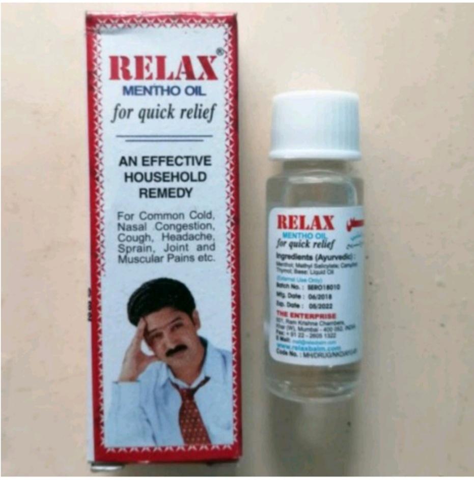 روغن ضددرد و سردرد ریلکس با تجویز تکمیل درمان آقای عطار