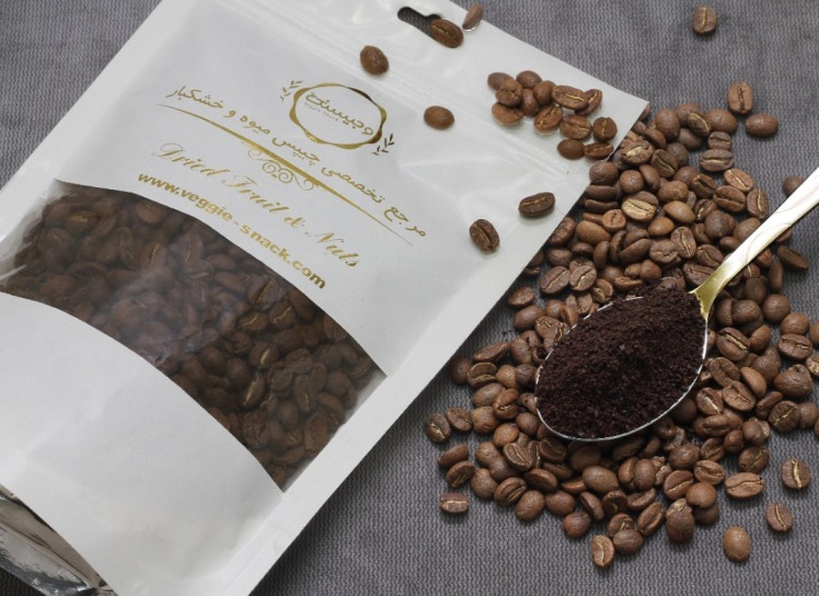 دانه قهوه اتیوپی عربیکا مدیوم 250 گرم وجیسنک