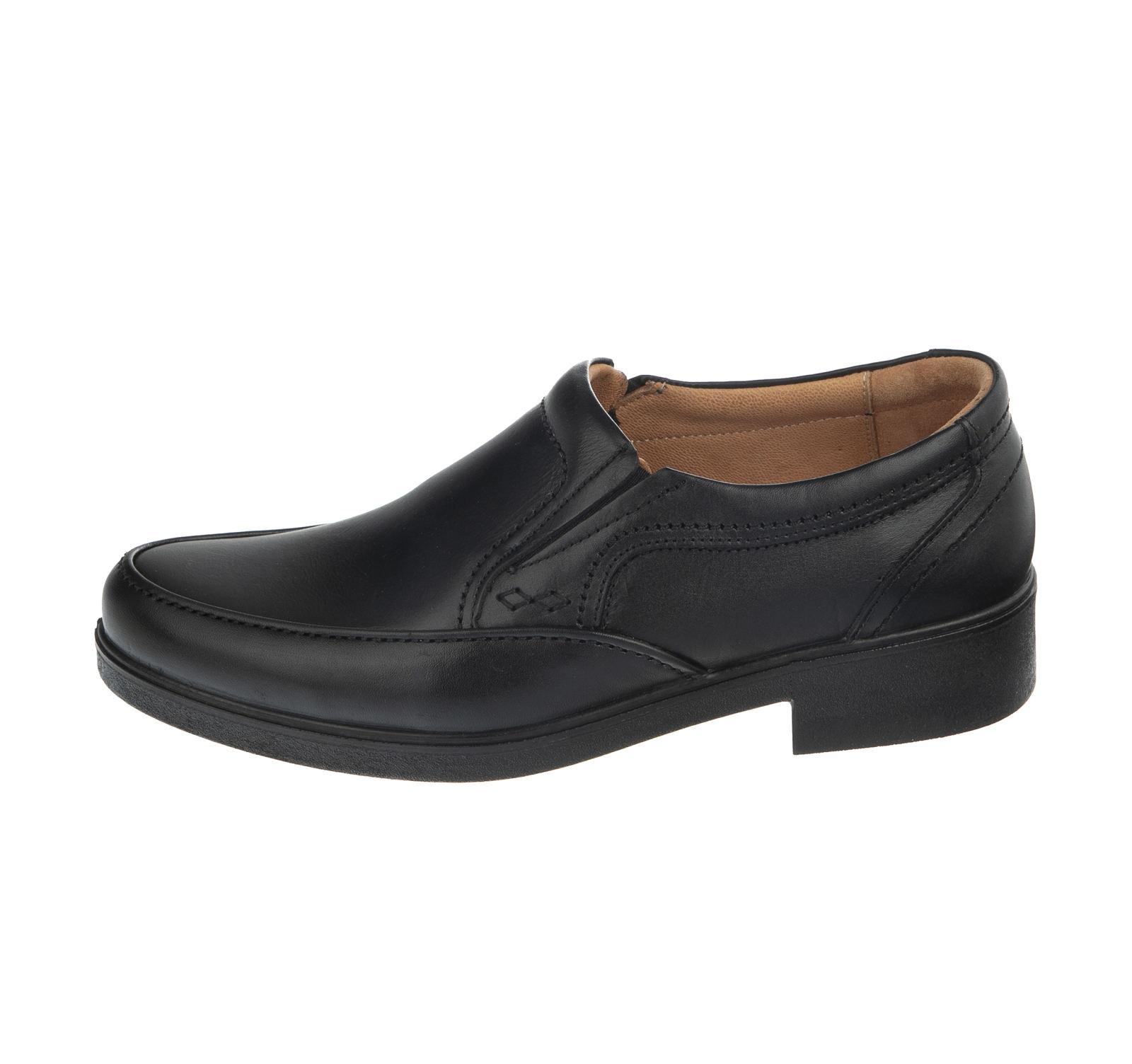 کفش مردانه مجلسی مدل T10 مشکی آذر پلاس