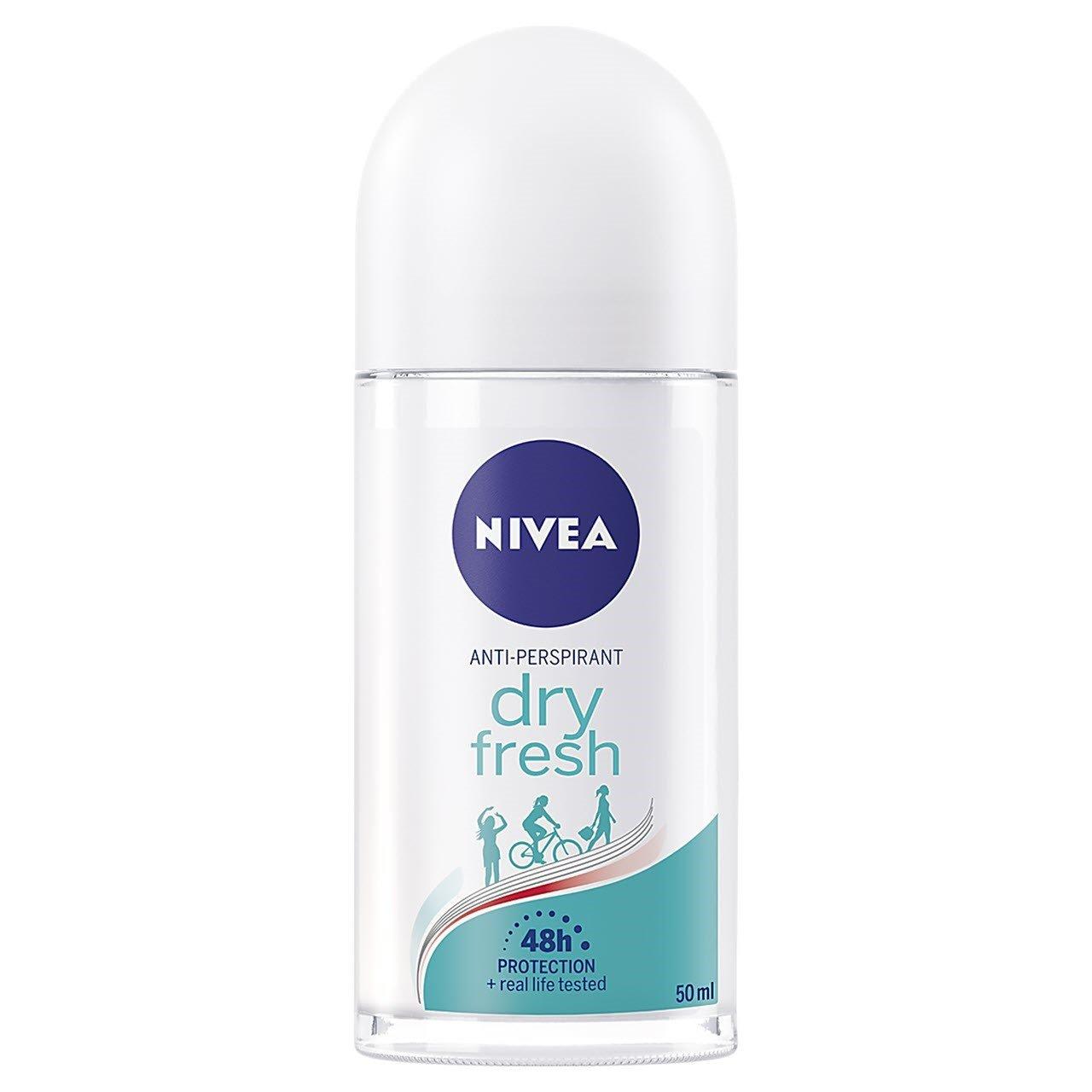 رول ضد تعریق زنانه نیوآ مدل Dry Fresh حجم 50 میلی لیتر