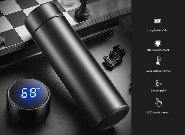 فلاسک دماسنج دار مدل vacuum cup