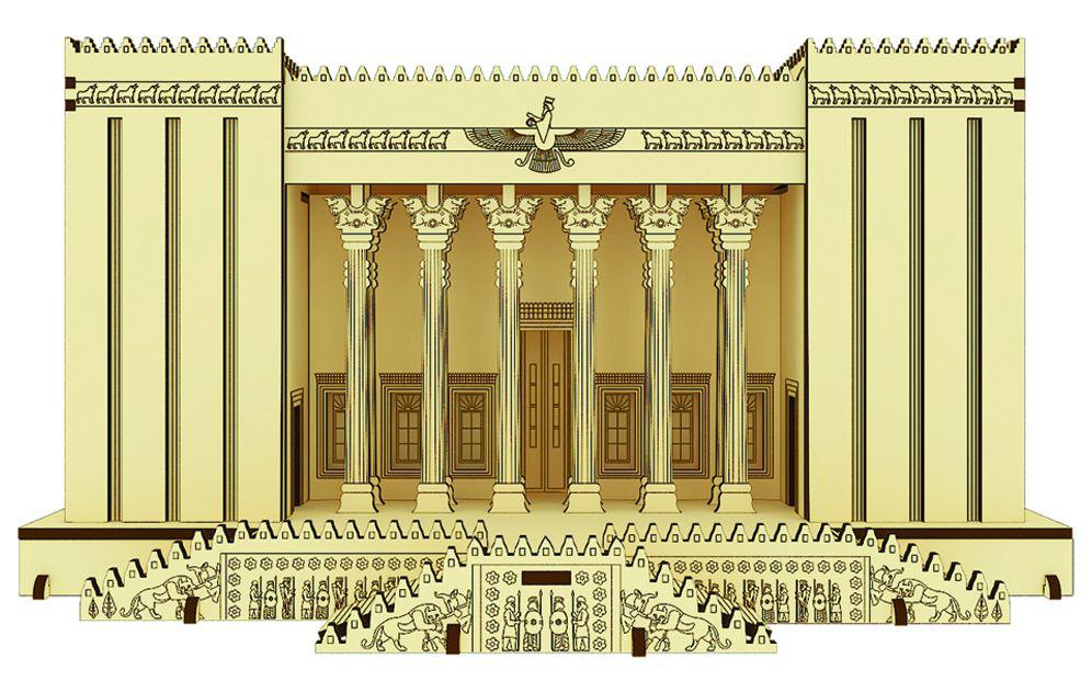 پازل سه بعدی چوبی کاخ آپادانا
