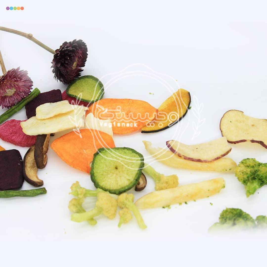 چیپس سبزیجات 250 گرمی وجیسنک