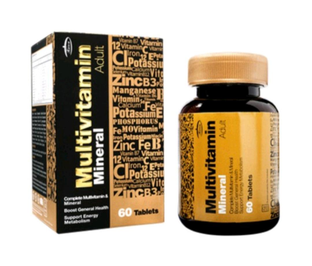 مولتی ویتامین مینرال با تجویز تکمیل درمان آقای عطار