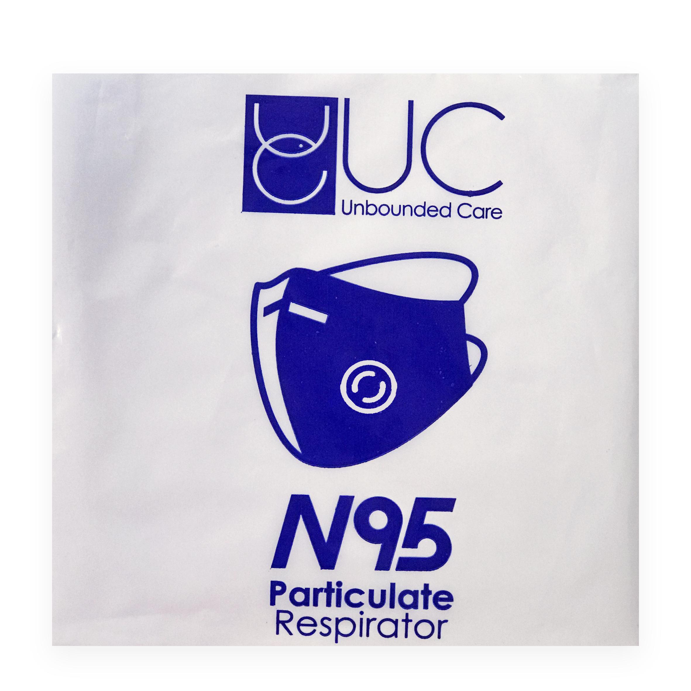 ماسک تنفسی  UC N95 مدل HY8222 FFP2 بسته 20 عددی