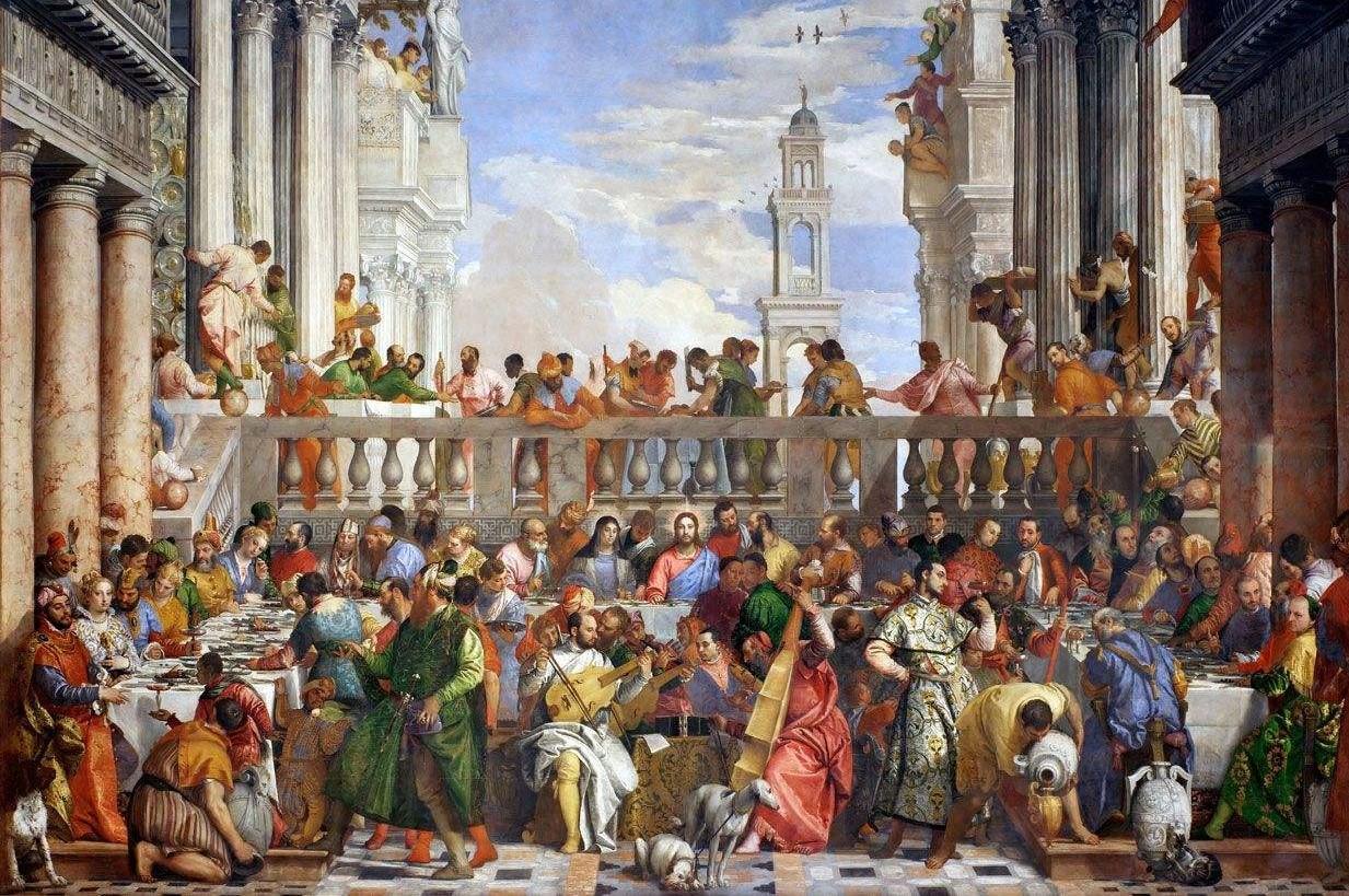 پازل 1000 تکه جیووانی مدل ازدواج در Cana