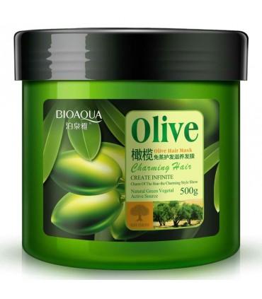 ماسک موی تقویت کننده عمیق ضد ریزش روغن زیتون بیوآکوا حجم ۵۰۰ گرم