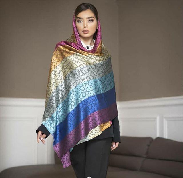 روسری زنانه هفت رنگ کد 00591