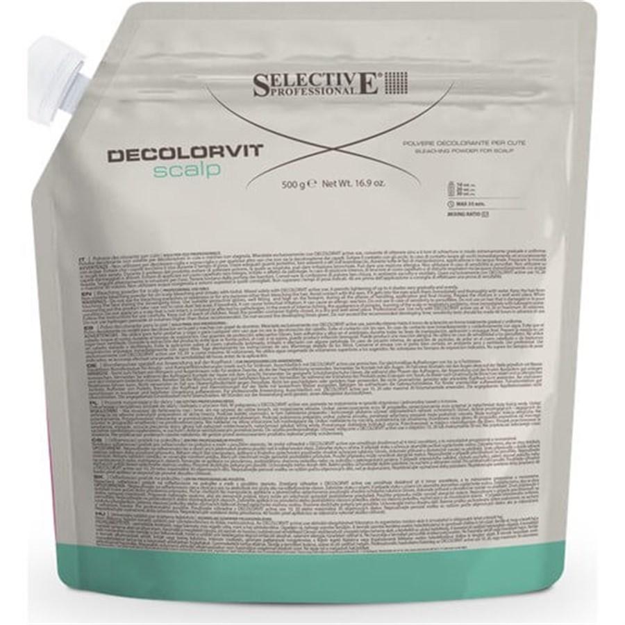 پودر دکلره سلکتیو 500 گرمی مدل DECOLORVIT Scalp