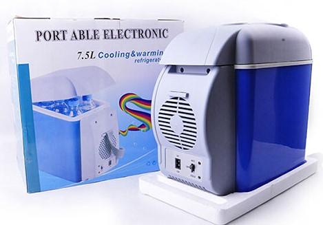 یخچال و گرم کن فندکی ماشین ظرفیت 7.5 لیتر