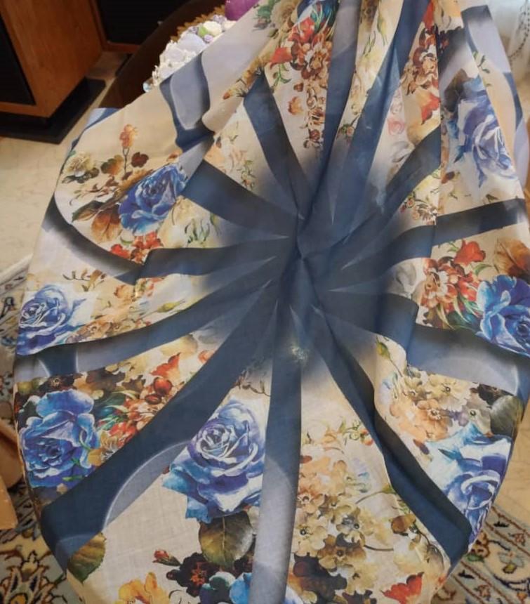 روسری نخی زنانه مدل سی دو کد 00352