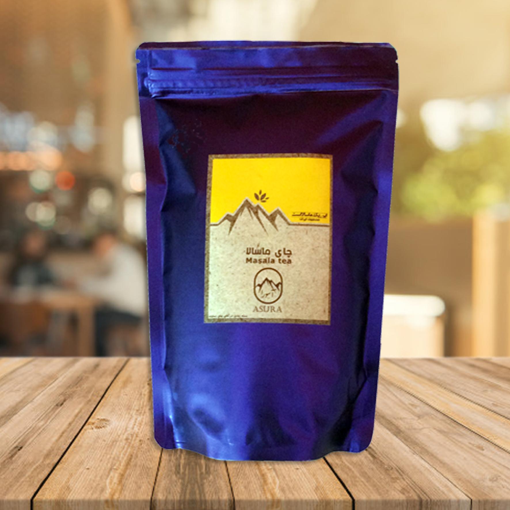 چای ماسالا دماوند حجم 500 گرم