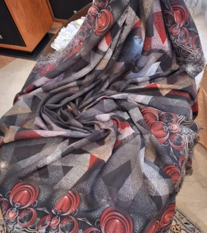روسری نخی زنانه سویس گالری کد 00377