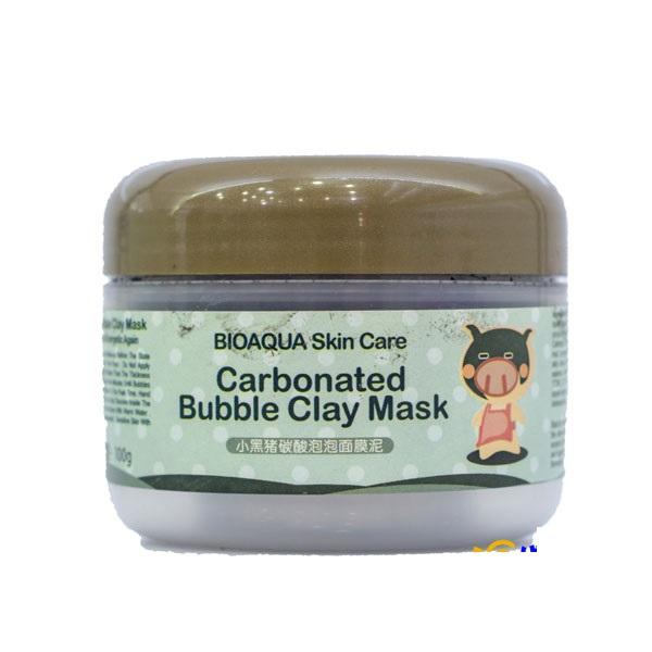 ماسک حبابی کربن مغذی و پاک کننده عمیق پوست بیوآکوا