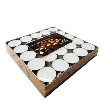 شمع وارمر سفید بسته 50 عددی