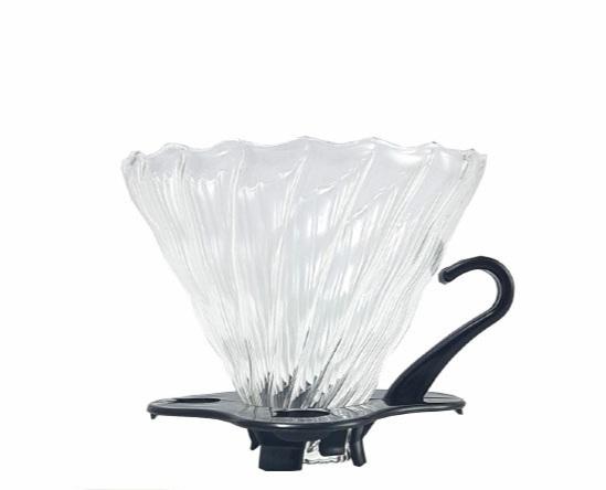 قهوه ساز چکه ای دریپر شیشه ای مدل وی 60