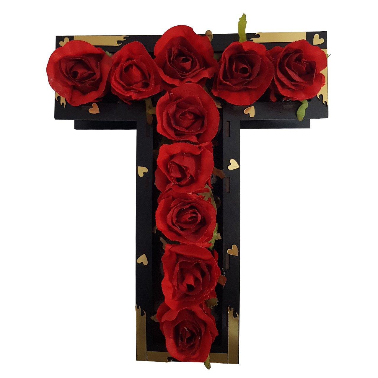استند گل مصنوعی طرح T کد plk7118