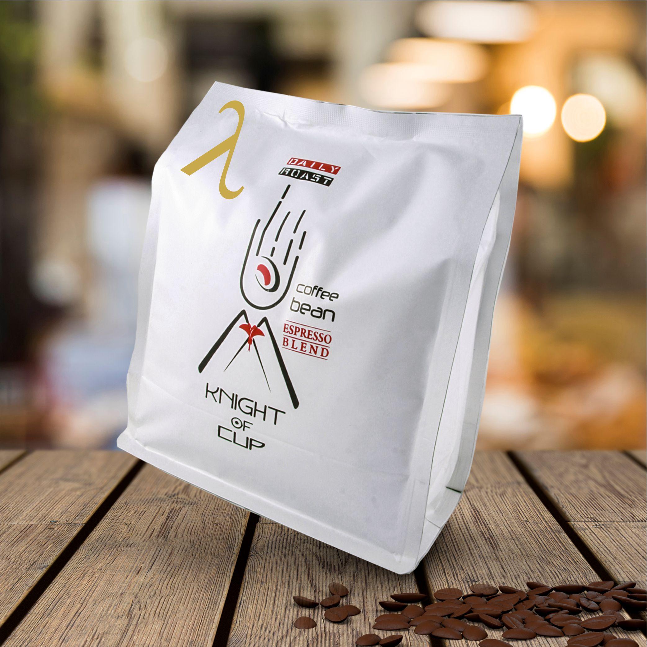 قهوه اسپرسو لامبدا 80 درصد عربیکا شوالیه آسیاب شده 250 گرمی