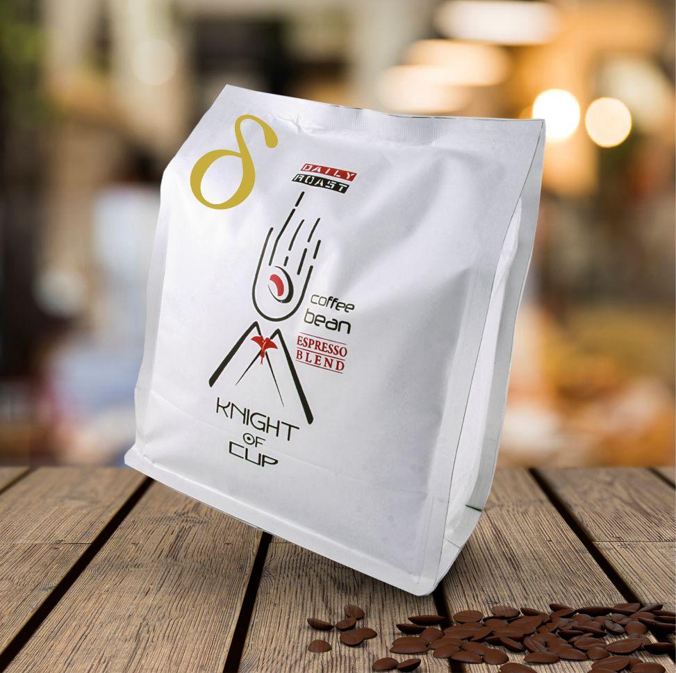 قهوه اسپرسو دلتا 60 درصد عربیکا شوالیه دان کامل 250 گرمی