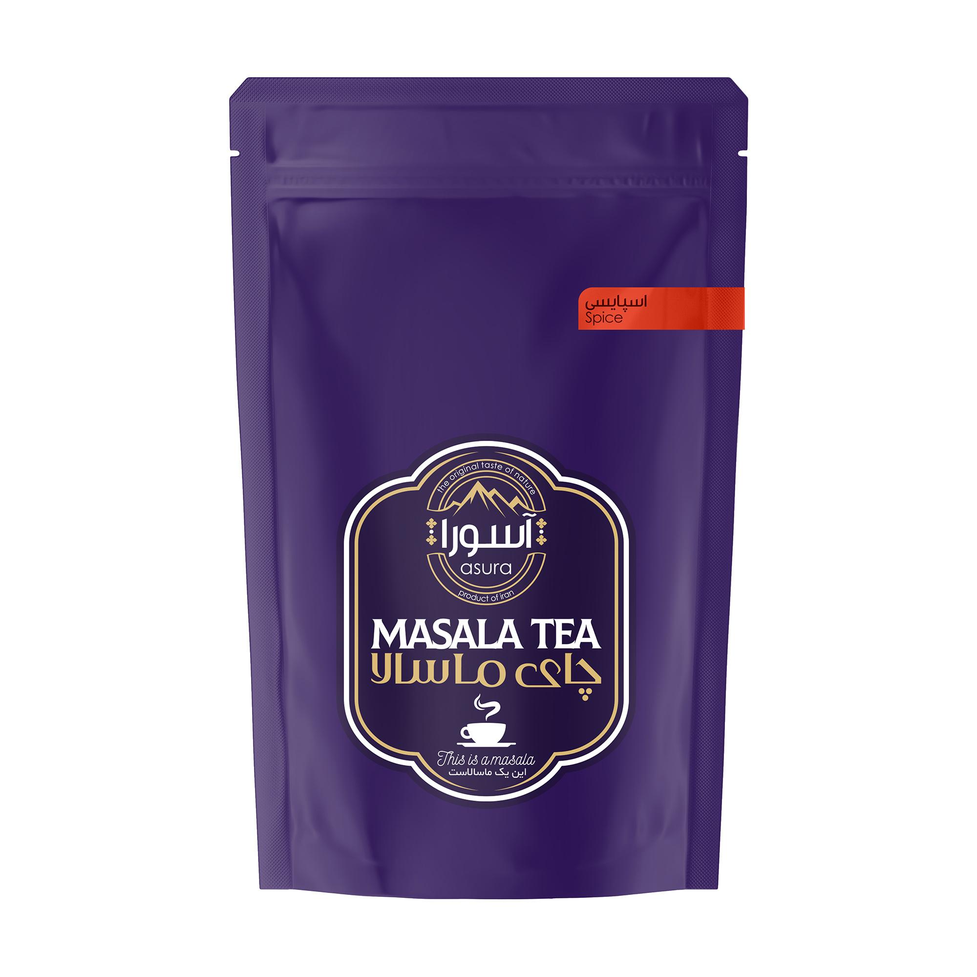 چای ماسالا اسپایسی آسورا - 500 گرم