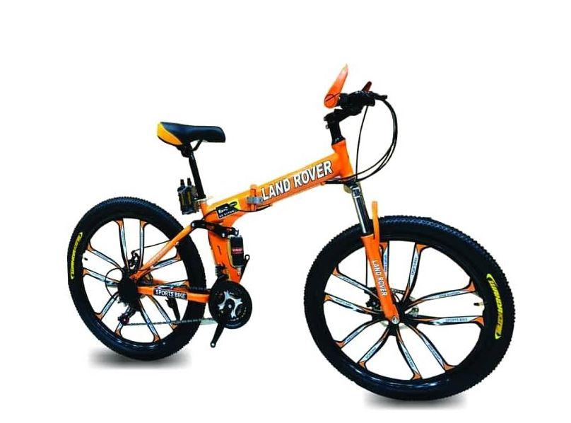 دوچرخه سایز 26 لاندرور LAND ROVER  تاشو 10 پره