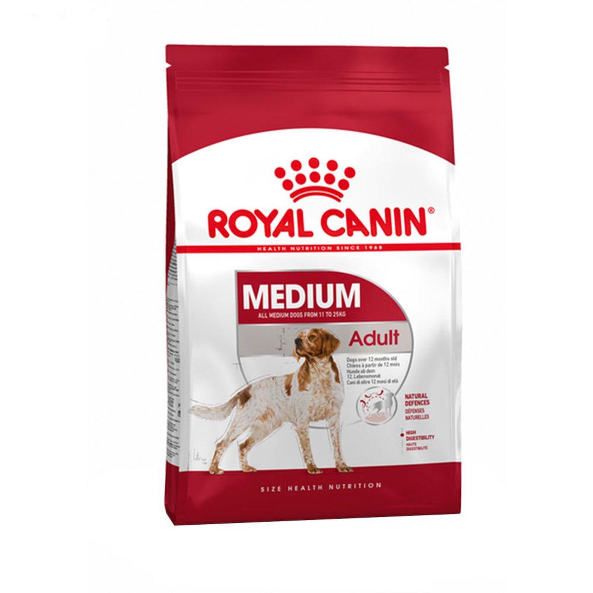 غذای خشک سگ رویال MEDIUM ADULT وزن 15کیلوگرم