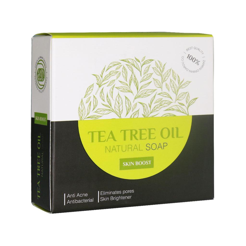 صابون روغن درخت چای اسپرولینا حجم 100 گرم