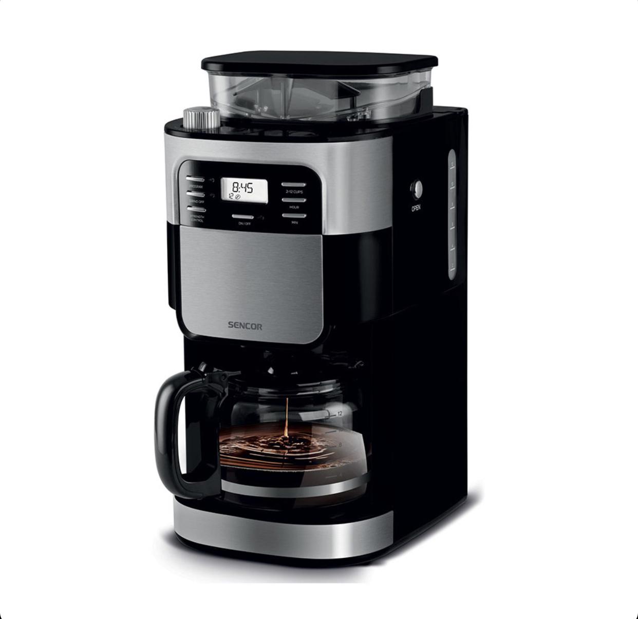 قهوه ساز و آسیاب سنکور مدل 7000BK