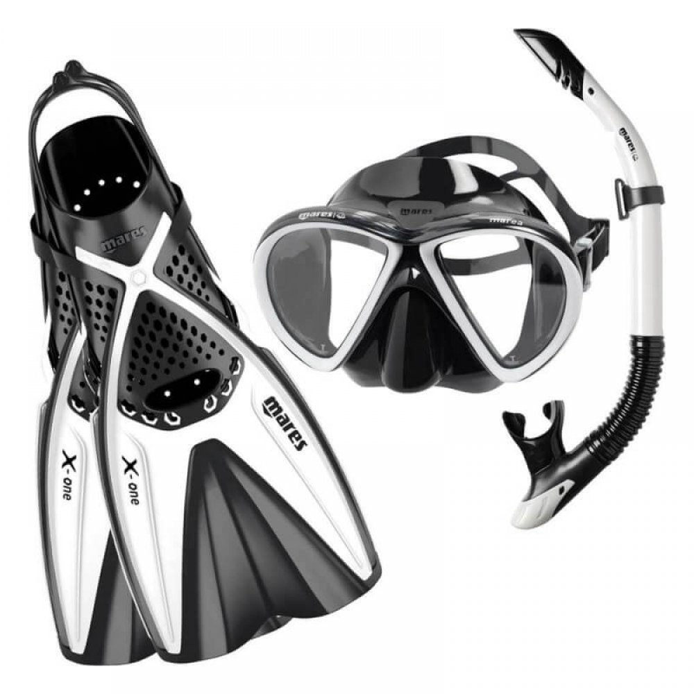 اسنورکل شنا و فین غواصی مارس مدل Set X-One Marea